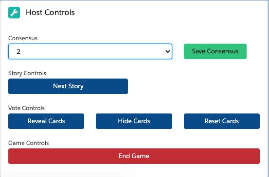host controls