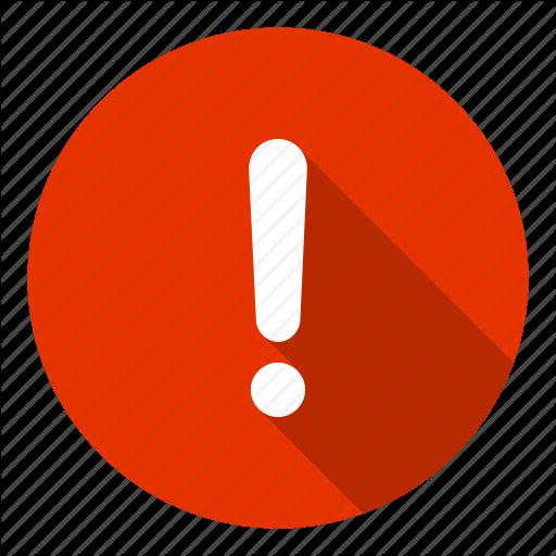 Info, help, alert, caution, error, danger icon